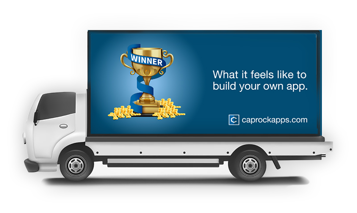 Caprock Truck Wrap