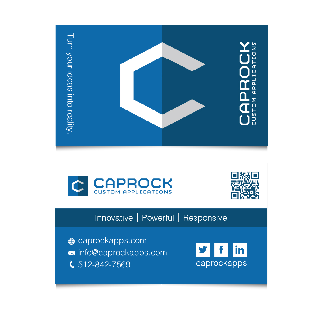 caprock business cards