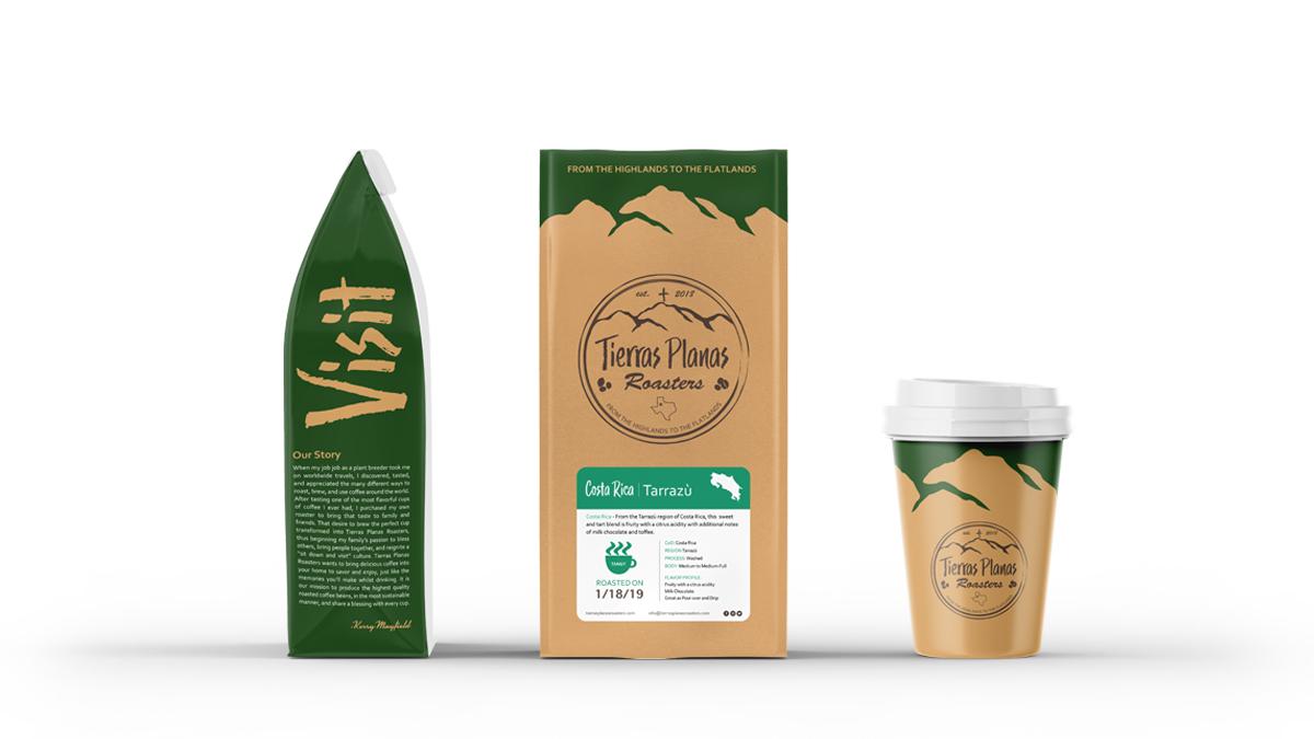 TPR Coffee portfolio image