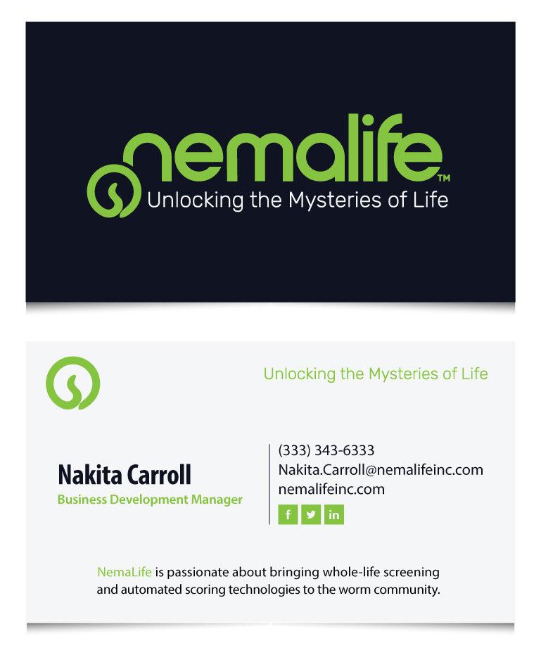 nemalife business cards example