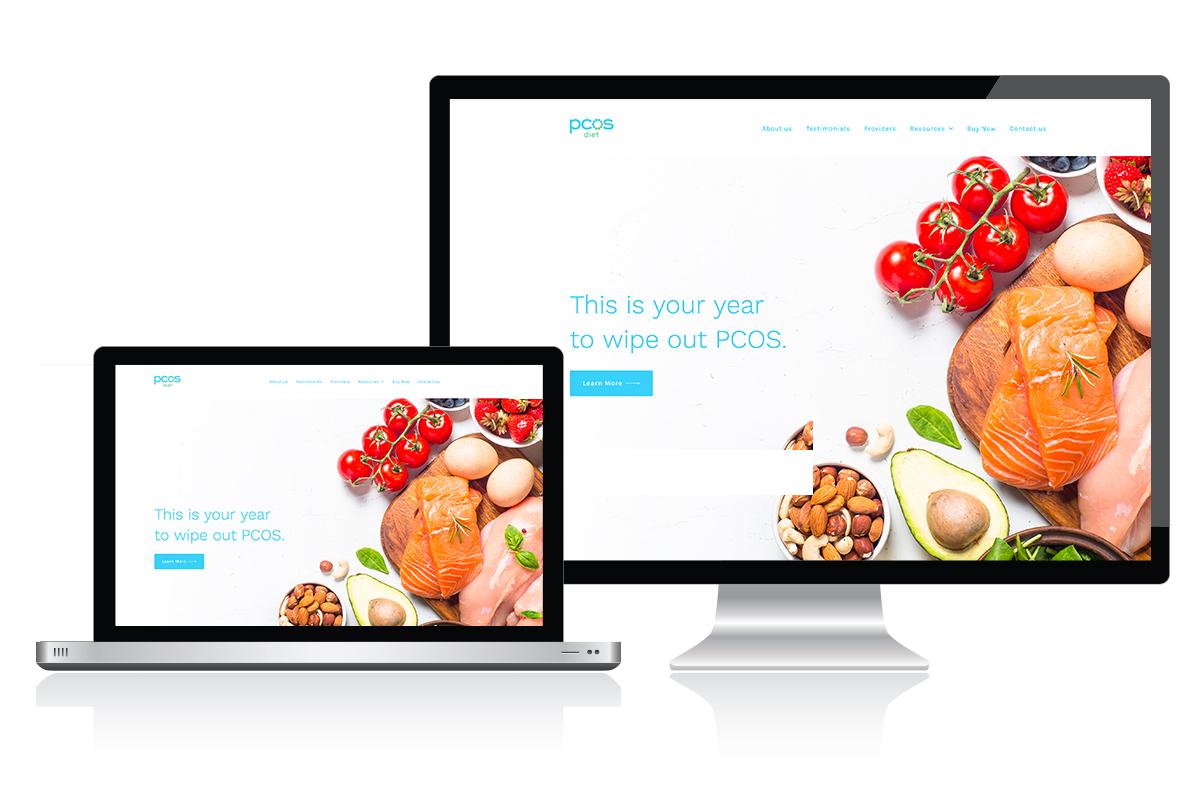 PCOS website example