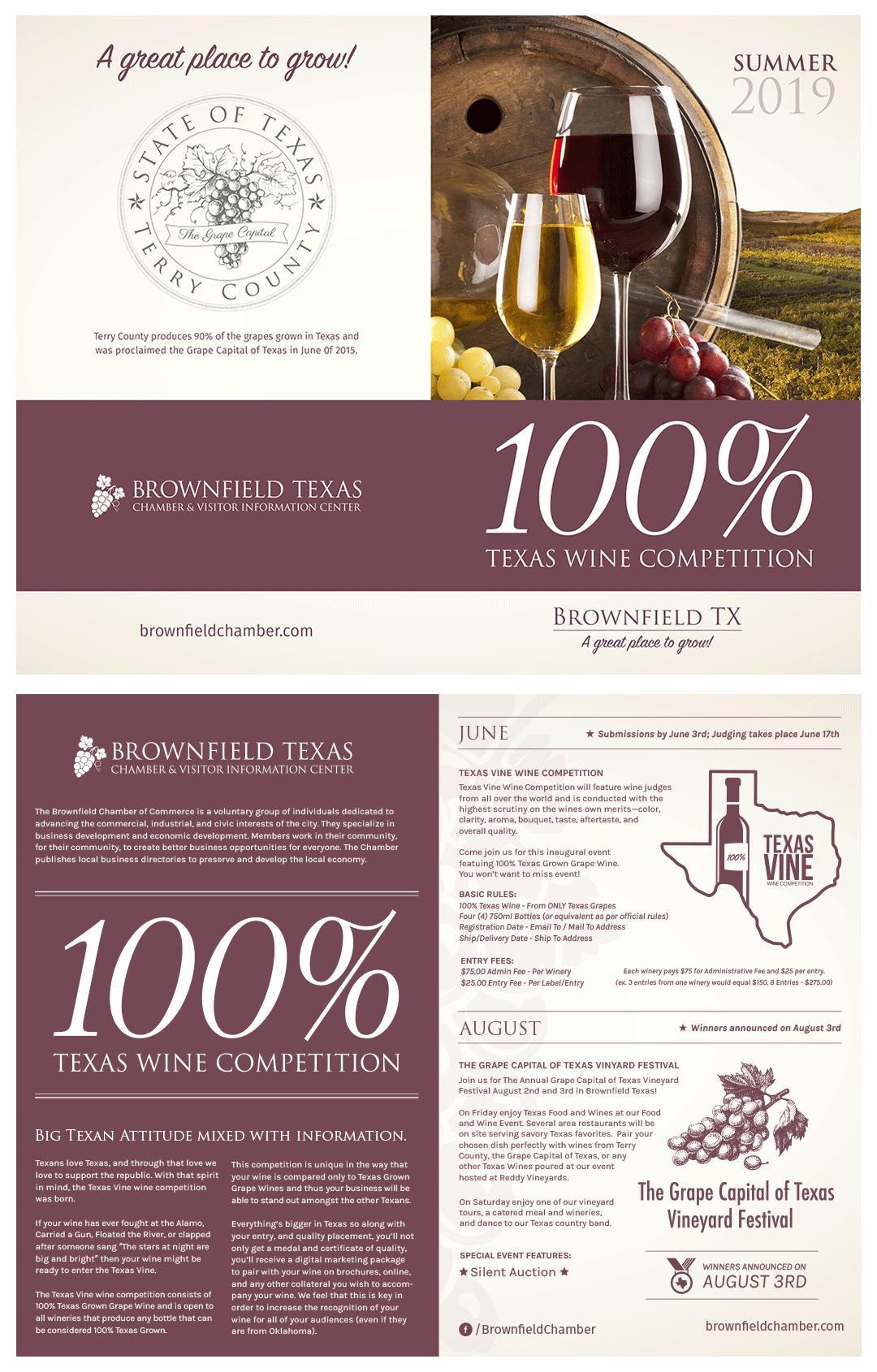 Texas Vine Festival Brochure
