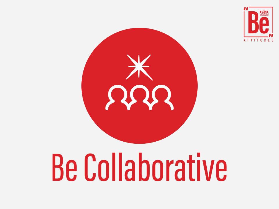 Be Attitudes Be Collaborative Icon