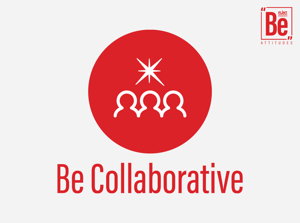 Be Attitudes Be Collaborative Icon