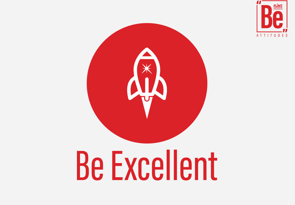 Be Attitudes Be Excellent Icon