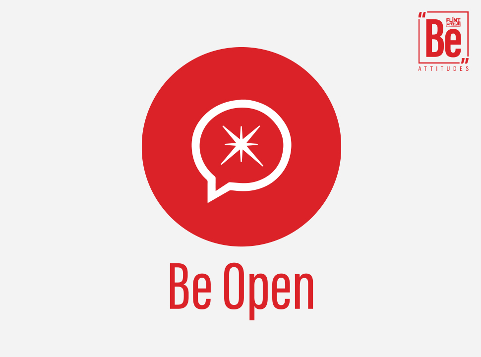 Be Attitudes Be Open Icon