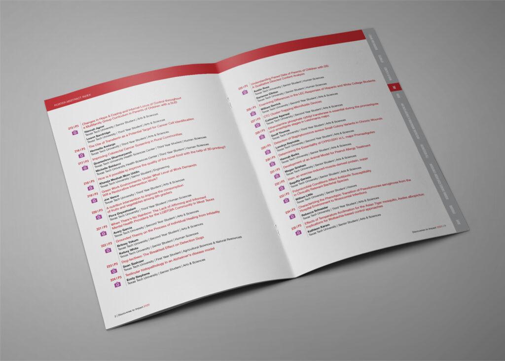 TTU Innovation Hub Booklet Design FAM
