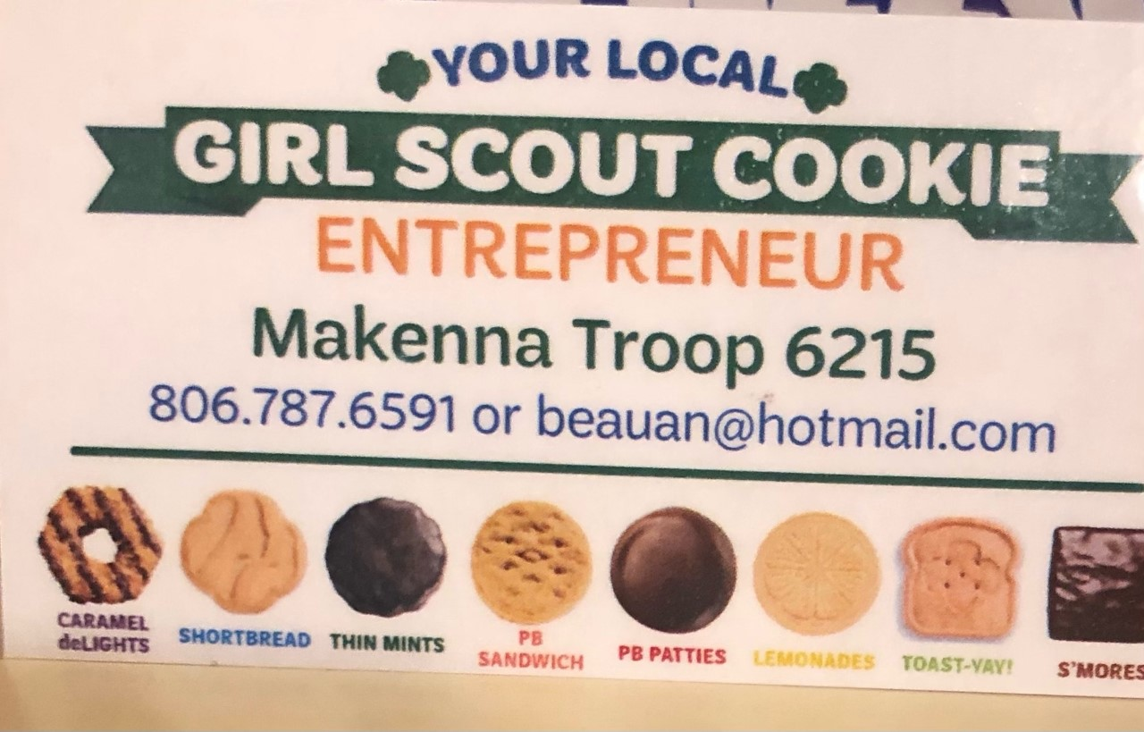 girl scout cookie image